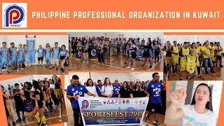 PHILIPPINE PROFESSIONAL ORGANIZATION IN KUWAIT SPORTS FEST KICK OFF