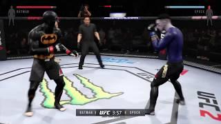Batman vs. Spock (EA Sports UFC 2)