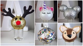 7 CHEAP & EASY DIY CHRISTMAS ORNAMENTS   PINTEREST INSPIRED