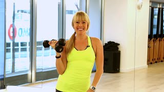 5 Minute Upper Body Arm Workout with Eva Redpath by Coral