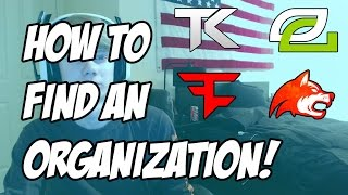 How to join a competitive Call of Duty organization! (Commentary)
