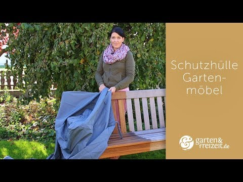 ▶ GARTENMÖBEL SCHUTZHÜLLE | 5 goldene Regeln zur Gartenmöbel Abdeckung unter einer Schutzhülle