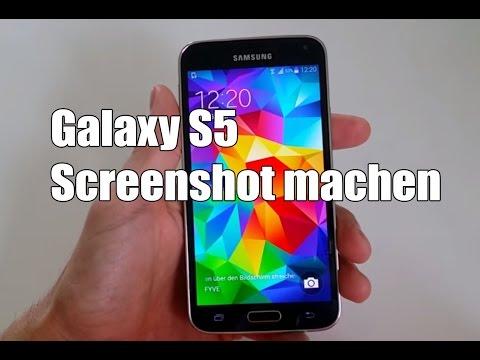 Samsung Galaxy S5 Screenshot machen