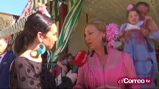 Correo Andalucía Tv nos visitó en la caseta de la Feria