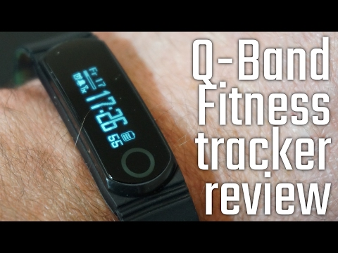Q-Band Fitness Band unboxing and review - Watch, Activity, Steps, Fitness, Calories & Sleep Tracker