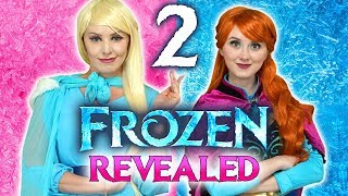 FROZEN 2 REVEALED! (Elsa and Anna are Back in the Frozen 2019 Sequel Movie)