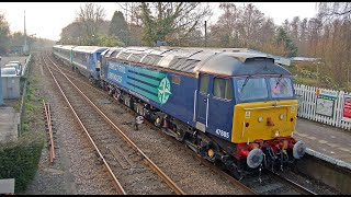 preview picture of video '47805 & 47802 on Greater Anglia Short Set - 10/04/2013'