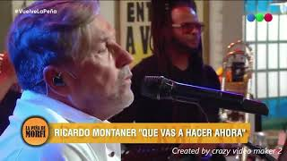 Ricardo Montaner En La Peña  Que Vas A Hacer En Vivo