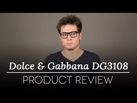 Dolce & Gabbana DG3108 Glasses Review