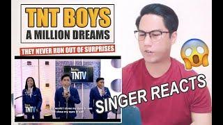TNT Boys - A Million Dreams TNT Versions | REACTION