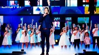 """Дима Билан и Хор Академии Игоря Крутого - Не молчи. """"Песня года 2015"""""""
