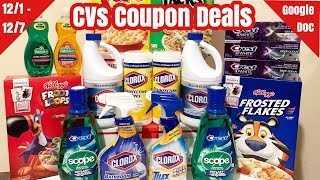 CVS Coupon Deals & Haul   12/1 - 12/7   I Paid $7 for Everything 🙌🏽