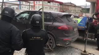 Арест  Porsche Cayenne