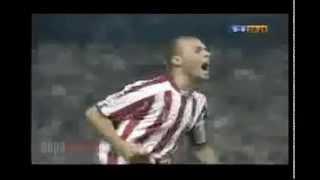 Gol de Yeste ante el Zaragoza (salvación)