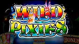 Wild Pixies Slot - NICE SESSION, ALL BONUS FEATURES!