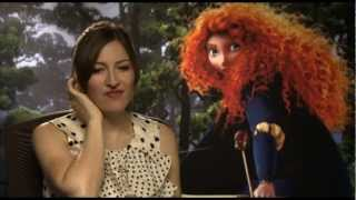 Kelly MacDonald - The voice of Merida in BRAVE from Pixar