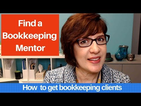 How to find a bookkeeping mentor - YouTube