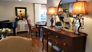 2020 SPRING HOME TOUR/LIVING ROOM /DINING ROOM/DECORATE WITH ME