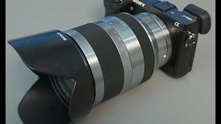 Lensa Sony SEL 18-200 Mm F3.5-6.3 - Sony Lens SEL 18-200mm F3.5-6.3 LE