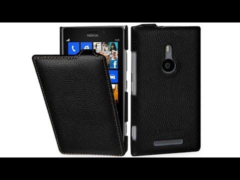 Handyhülle für Nokia Lumia 925 aus echtem Leder von StilGut