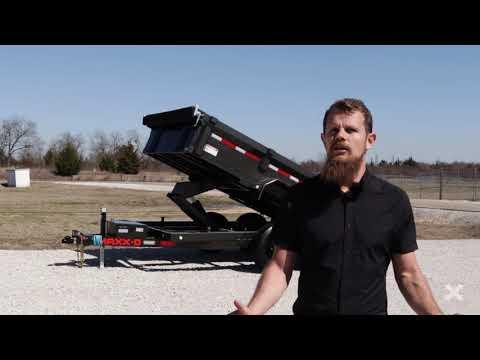 "2022 MAXXD TRAILERS 12' X 72"" - 10K 72"" DUMP in Merced, California - Video 1"