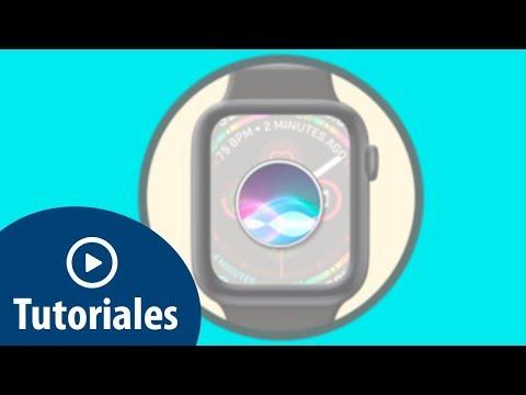Cómo hacer que Siri hable en Apple Watch 4