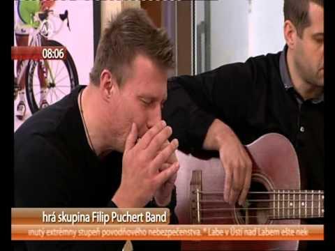 Filip Puchert Band - FILIP PUCHERT BAND - TV Markíza - Teleráno 6.6.2013