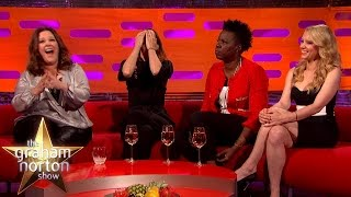 Download Youtube: The Cast of Ghostbusters Find Chris Hemsworth Annoyingly Perfect - The Graham Norton Show