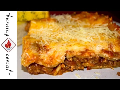 Super Easy Lasagna - Recipe