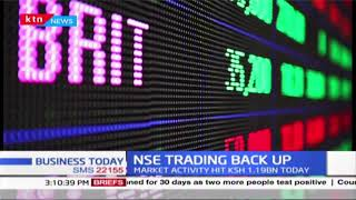 NSE Trading back up, banking stocks record sharp decline