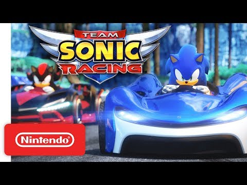 Team Sonic Racing - Gameplay Trailer - Nintendo Switch thumbnail