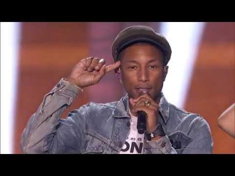 Pharrell Williams: 2016 Breakthrough Prize Ceremony
