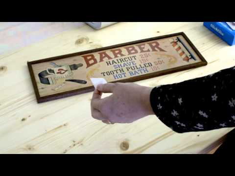 How to hang a picture without nails