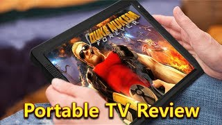 """Portable 12.1"""" LED HD TV, Unboxing & Review"""
