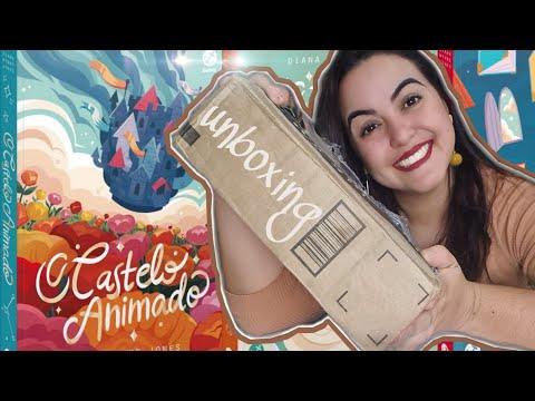 Unboxing do Box O Castelo Animado | Vídeo Vertical | Isadora Livros