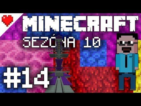 S10E14: Funkční endfarma, hrátky s vesničany [Minecraft SPLP 1.13.1]