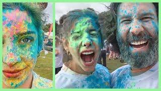 BOYANMAYAN YERİMİZ KALMADI! 🌈 Rengarenk Londra Vlogu
