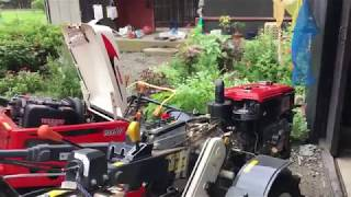 YANMAR 耕運機 バッテリー上がり対処法