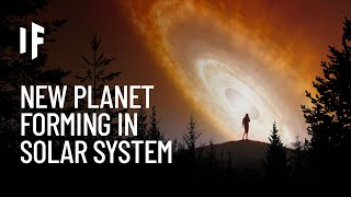 What If a New Planet Formed in the Solar System?