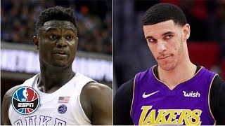 Zion and Lonzo in the open floor really excites the Pelicans - Woj | 2019 NBA Mock Draft Special