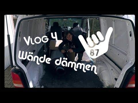 Camper Van Ausbau Mercedes Vito - Wände dämmen | Armaflex?? Insul Roll XT | Lackieren