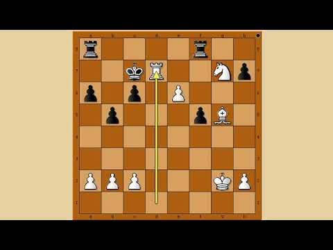 Extremni šahovski potezi i kombinacije  - LIU vs BARNETT  - Sicilijanska odbrana # 1136