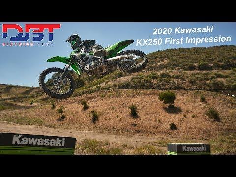 2020 Kawasaki KX250 First Ride Impression