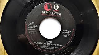 Working In The Coal Mine , Devo , 1981