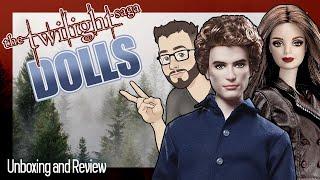 Unboxing: The Twilight Saga | Jasper and Bella Cullen Barbie Dolls
