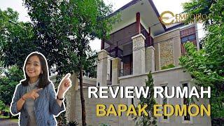 Video Hasil Konstruksi Rumah Villa Bali 2 Lantai Bapak Edmon di  Cibubur, Jakarta Timur