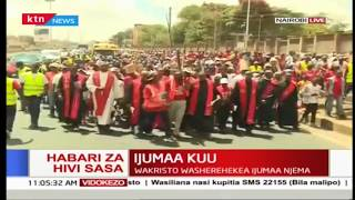Ijumaa Kuu: Waumini wakatoliki wafanya njia ya msalaba Nairobi