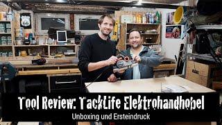 Tool Review: TackLife Elektrohandhobel EPN01A