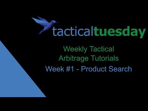 Tactical Arbitrage Product Search Tutorial - Tactical Tuesday #1 (2019)