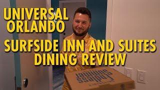 Universal's Endless Summer Resort - Surfside Inn and Suites Dining Review | Universal Orlando
